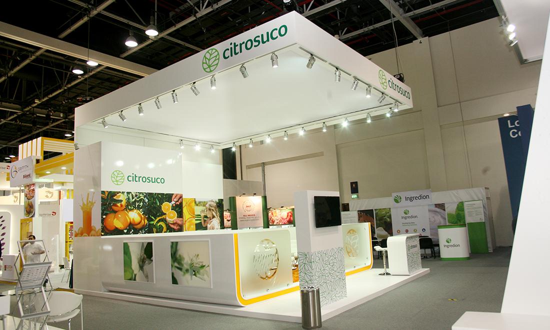 Messestand Citrosuco, Gulfood Dubai