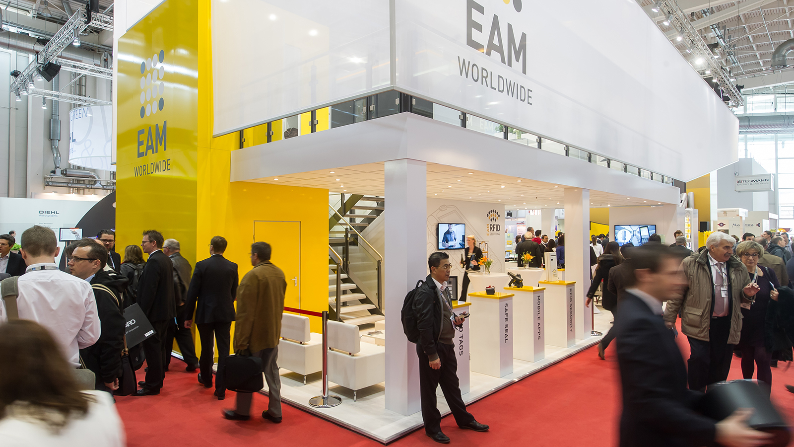 EAM<br>180 m²<br>Aircraft Interiors Expo