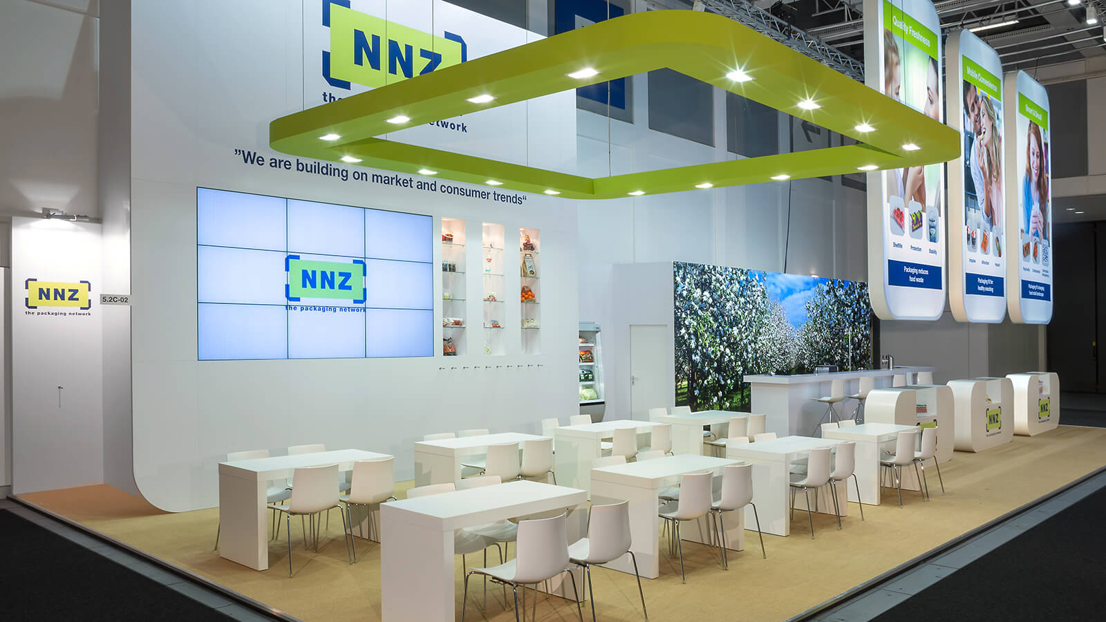 NNZ<br>140 m²<br>FRUIT LOGISTICA
