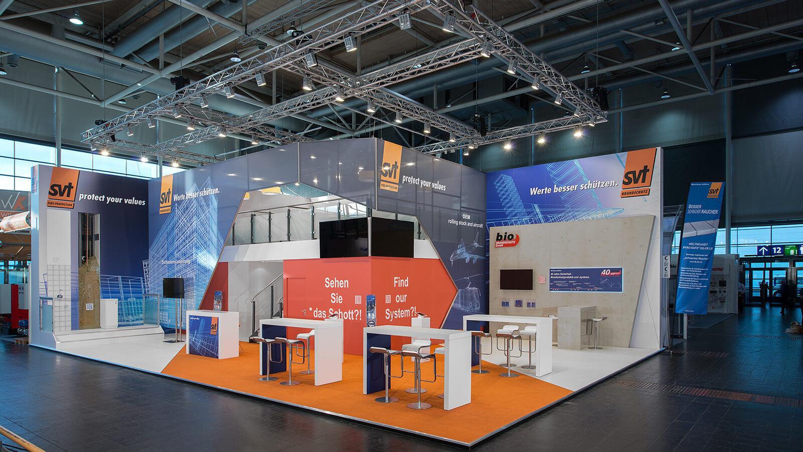 SVT Brandschutz<br>210 m²<br>INTERSCHUTZ