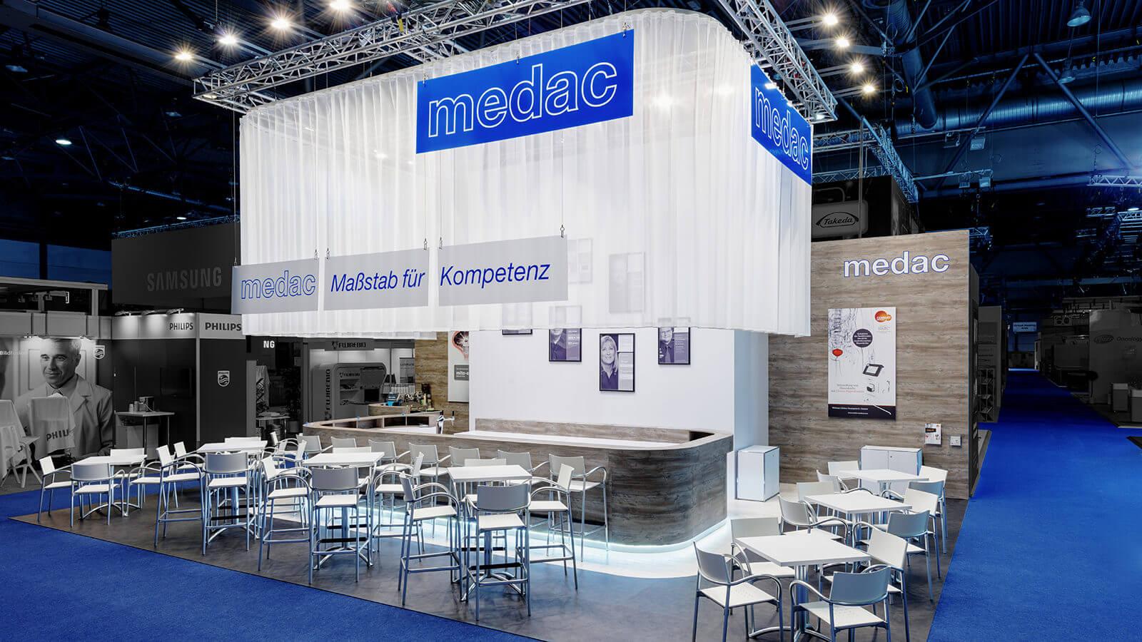 medac<br>98 m²<br>DGU-Kongress