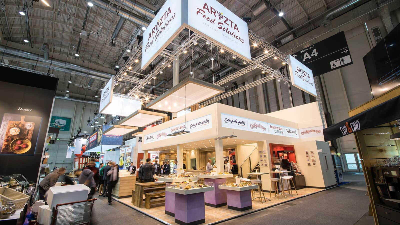 Aryzta<br>218 m²<br>INTERNORGA