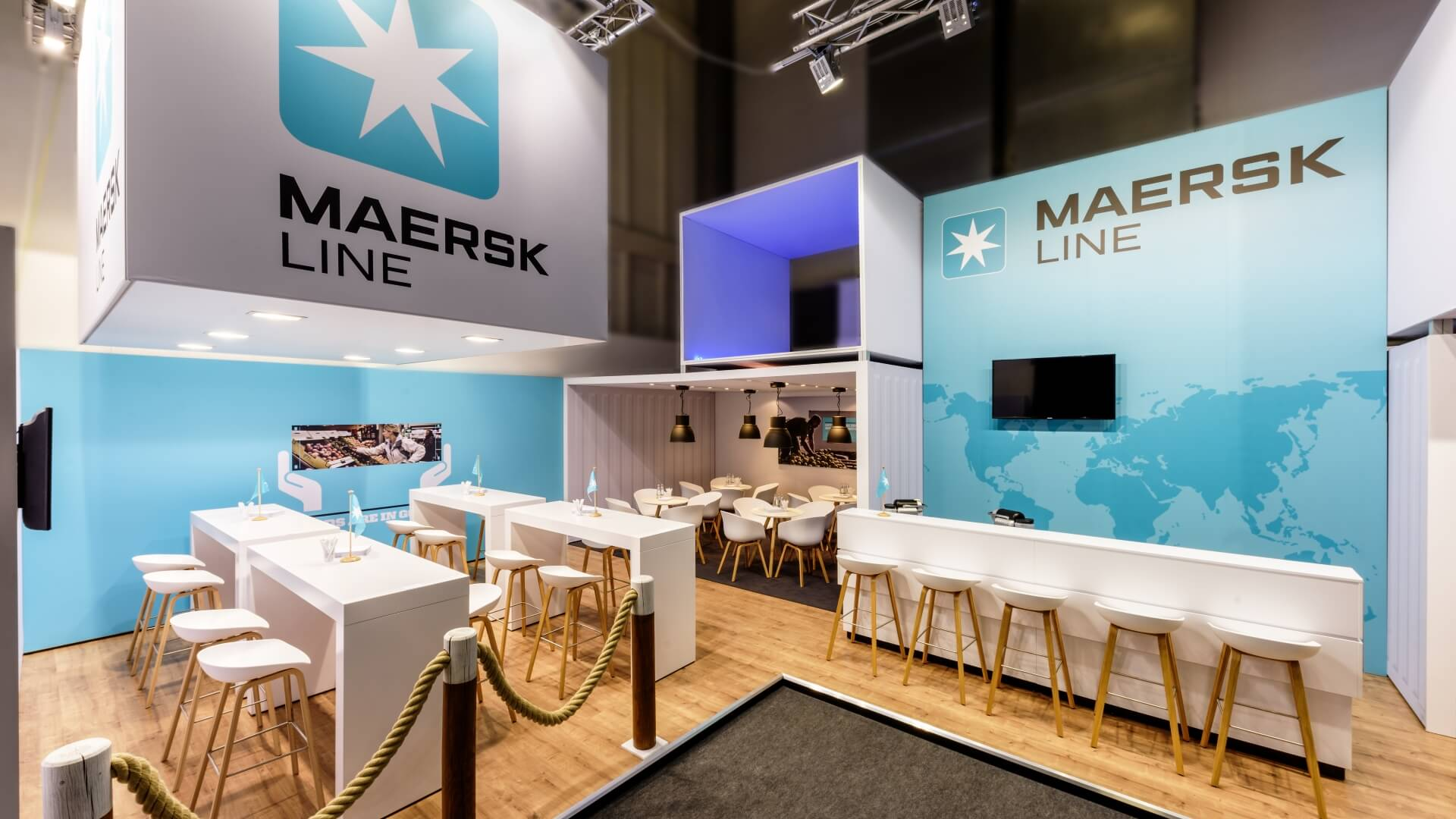 MAERSK<br>79 m²<br>FRUIT LOGISTICA
