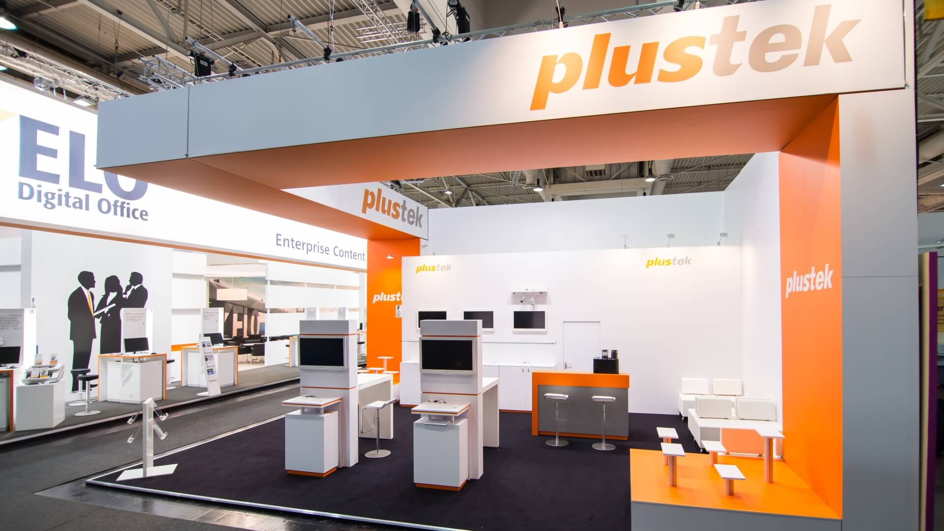 Plustek Technology<br>63 m²<br>CeBIT