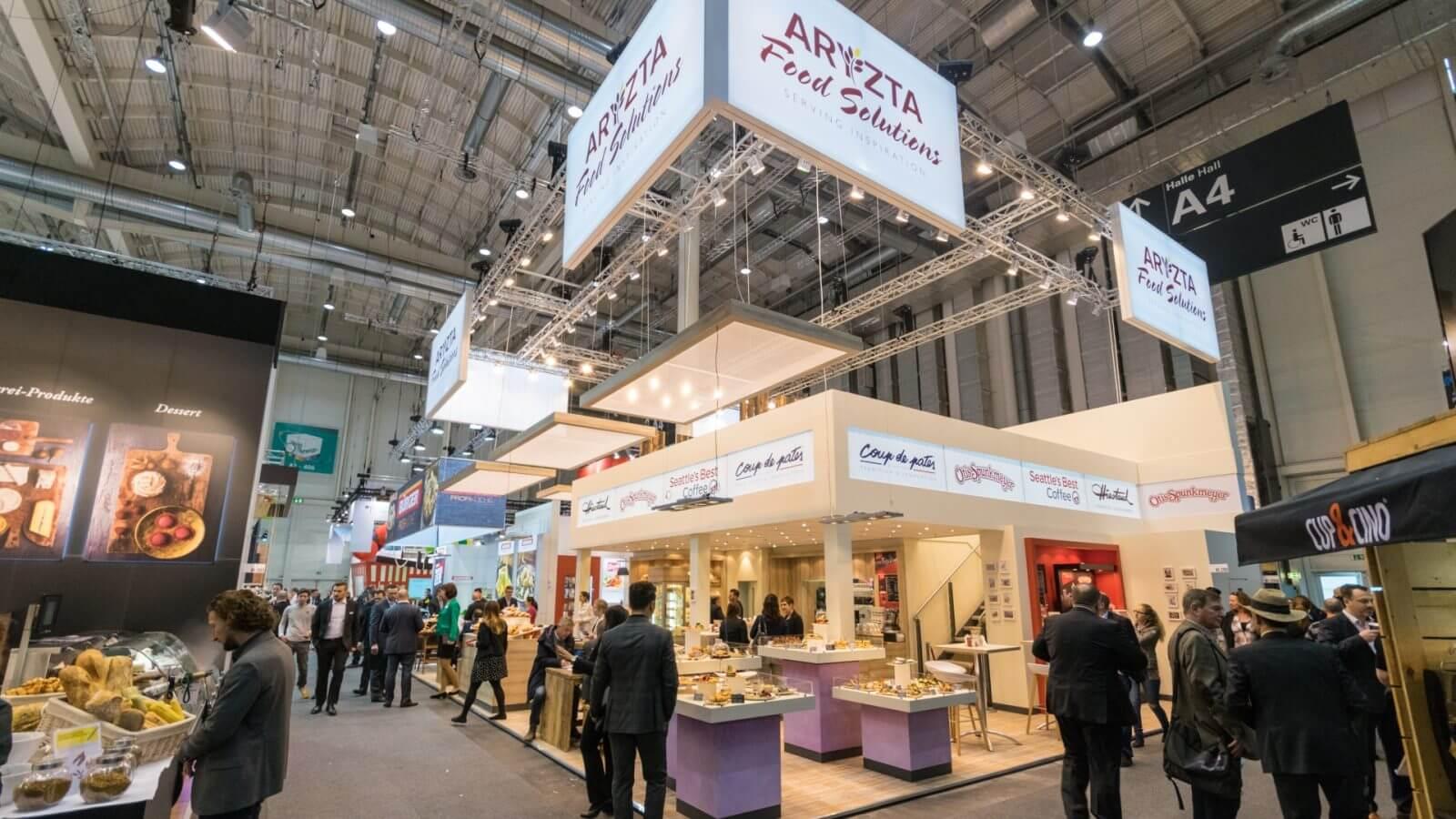 ARYZTA<br>218 m² Doppelstock<br>INTERNORGA