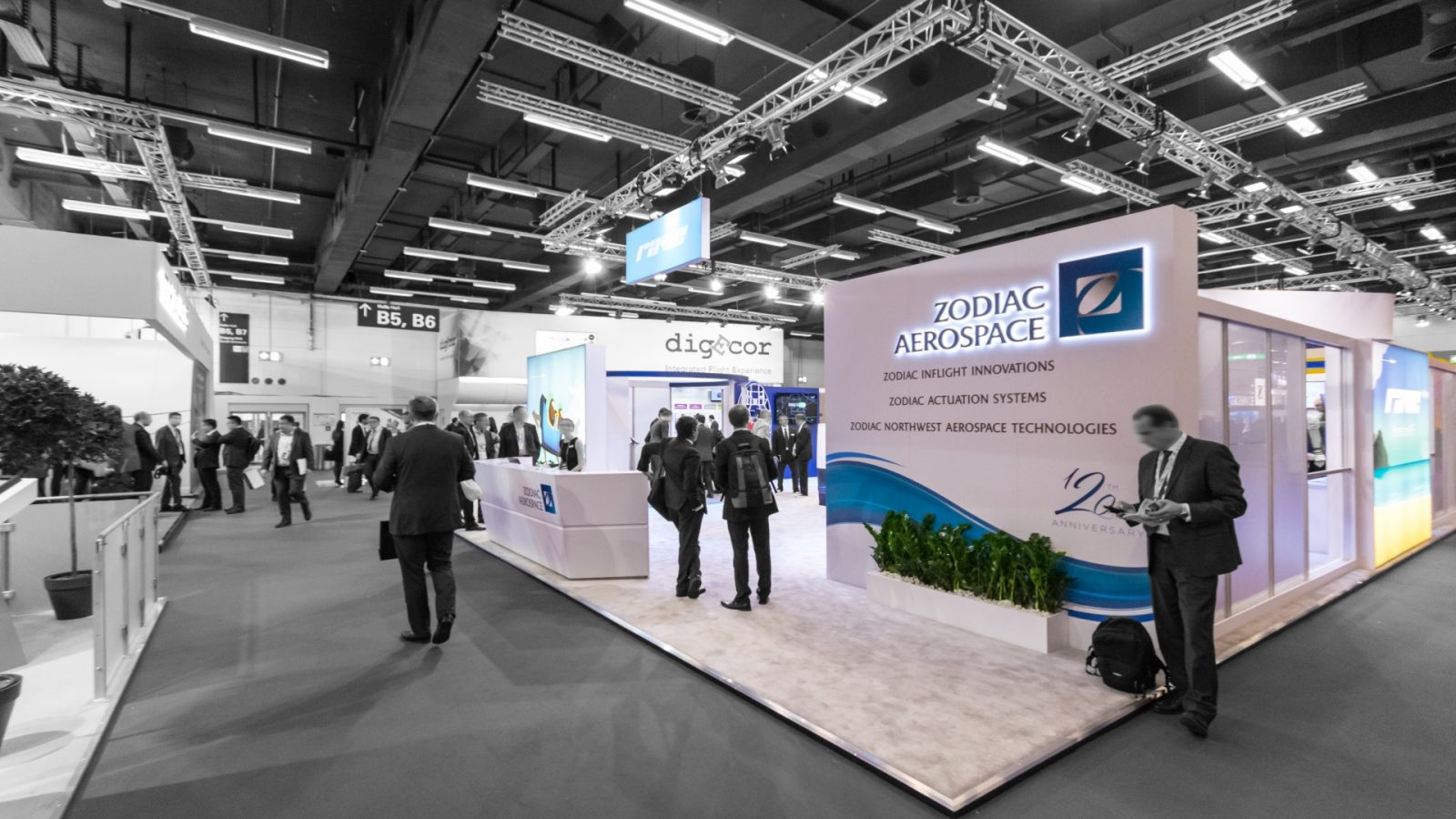 Zodiac<br>348 sqm<br>Aircraft Interiors Expo