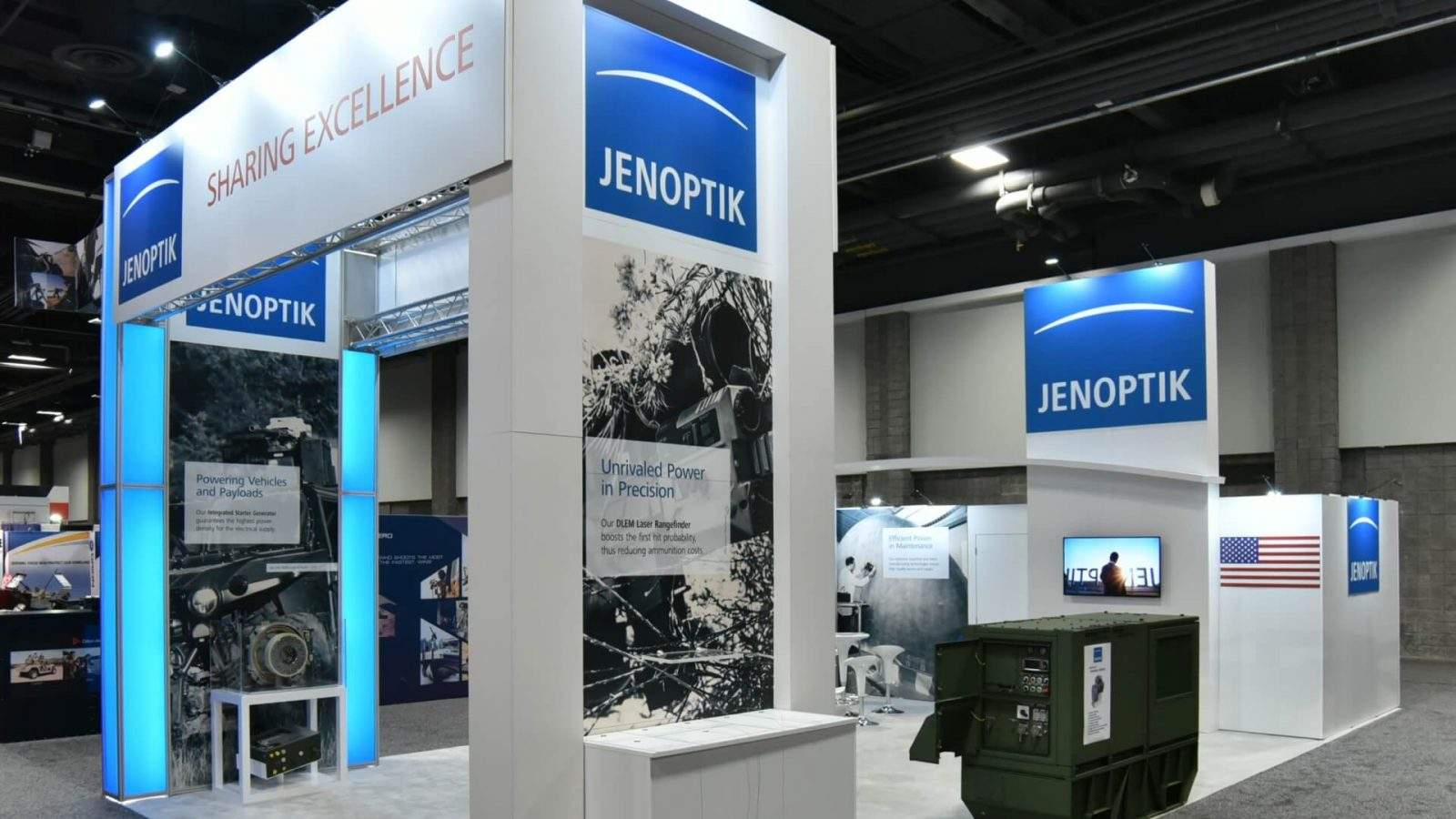 Jenoptik<br>72 sqm<br>AUSA Washington