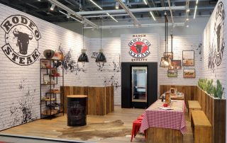 Messestand Rodeo FoodSpecial Stuttgart