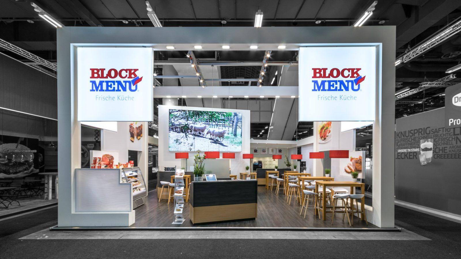 BLOCK MENÜ<br>126 m²<br>INTERNORGA