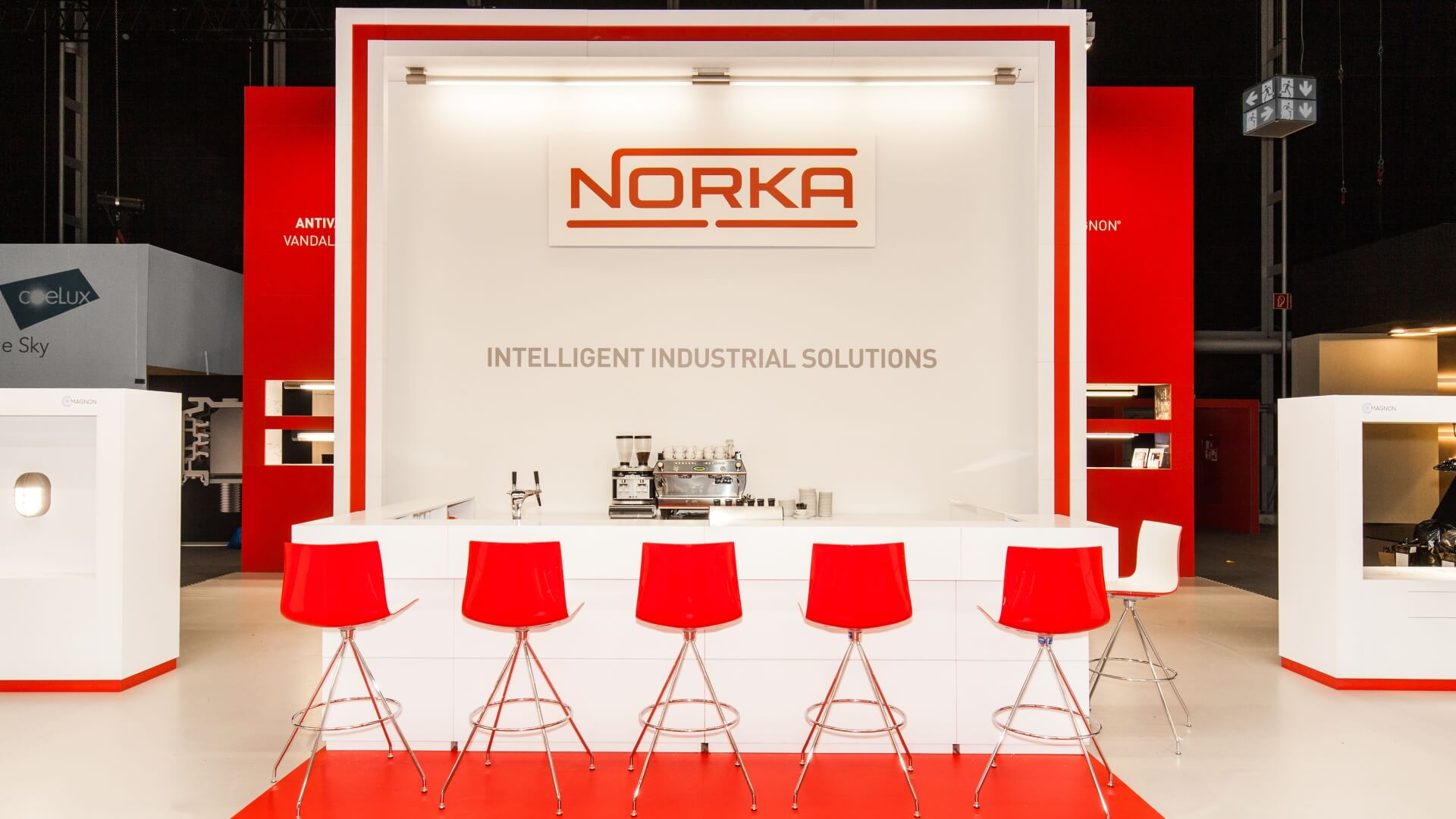 NORKA-Messestand-L+B