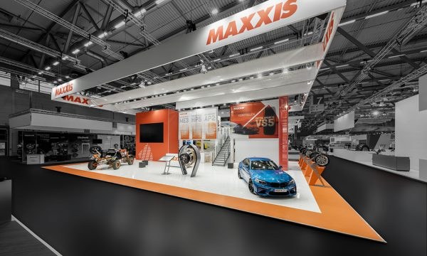 MAXXIS Messestand auf der The Tire Cologne 2018 in Köln