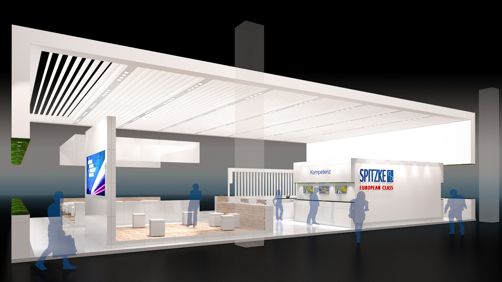 Messestand Spitzke Innotrans 1