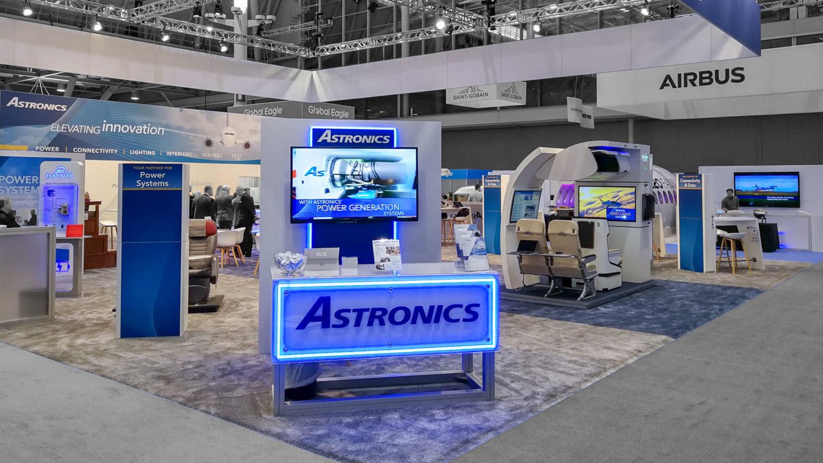 PREUSS MESSE Astronics APEX Boston USA 2