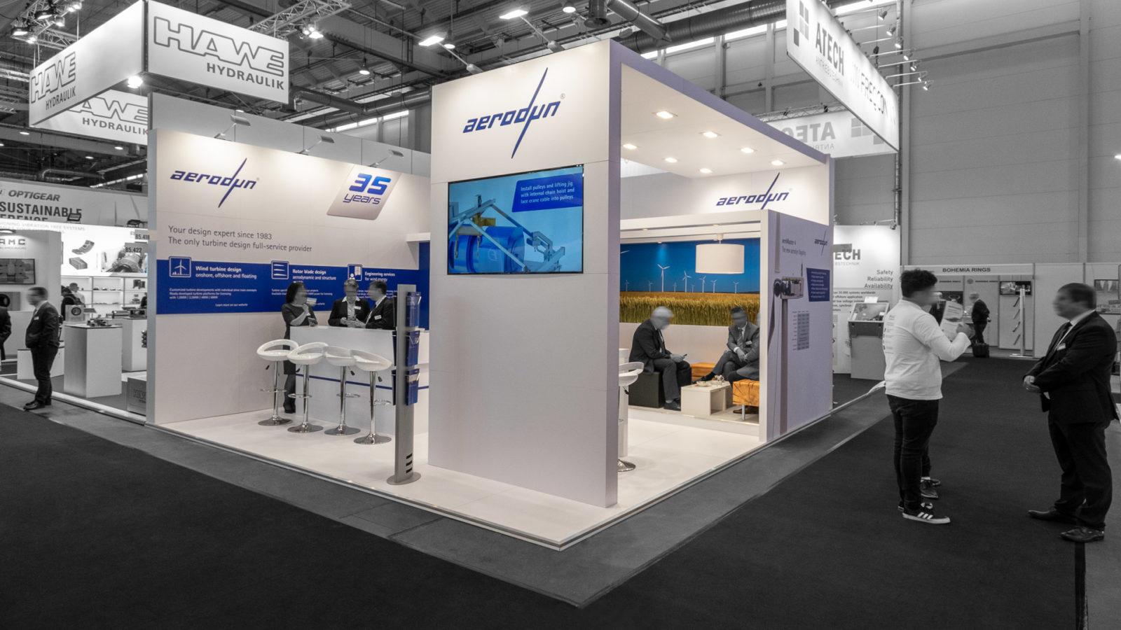 PREUSS MESSE Aerodyn Energiesysteme WindEnergy Hamburg 1