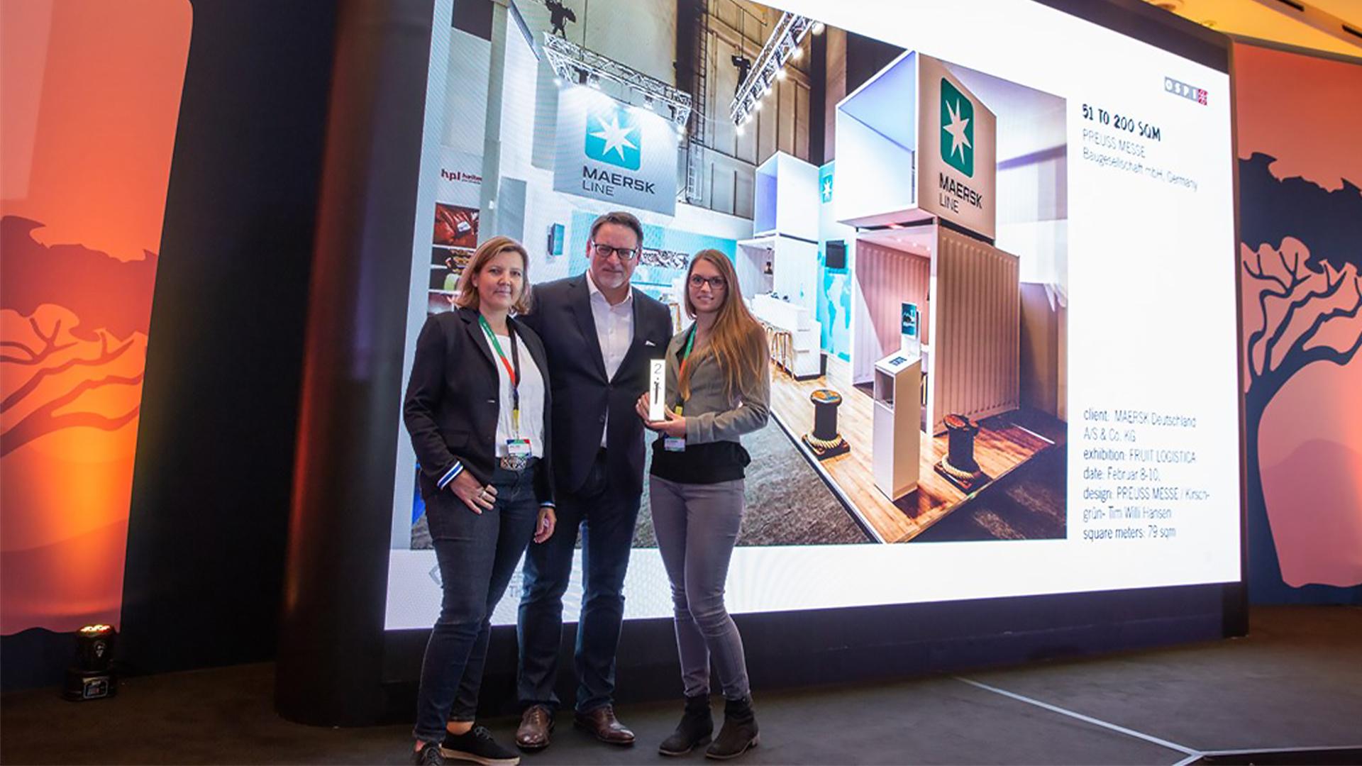 PREUSS MESSE OSPI Award Preisübergabe 2018 Kapstadt